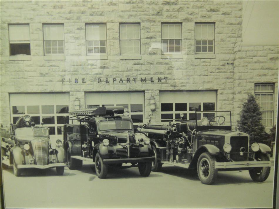 Old Timey Fire Department Apparatus